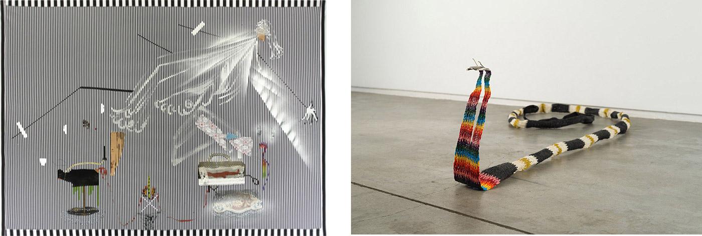 Nilbar Güreş, Frozen Zebra, 2017,  Double Headed Snake - Queer Desire is Wild, 2015, Courtesy of Galerie Tanja Wagner.